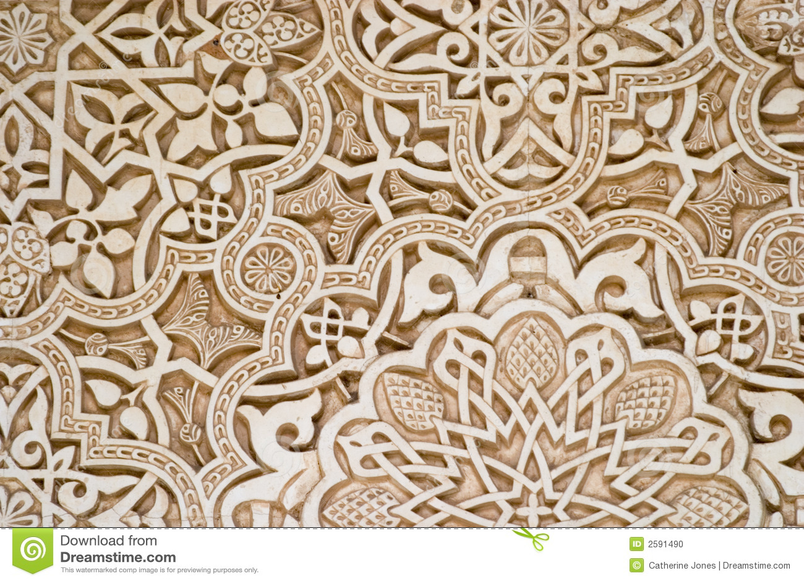 Sztuka islamska alhambra