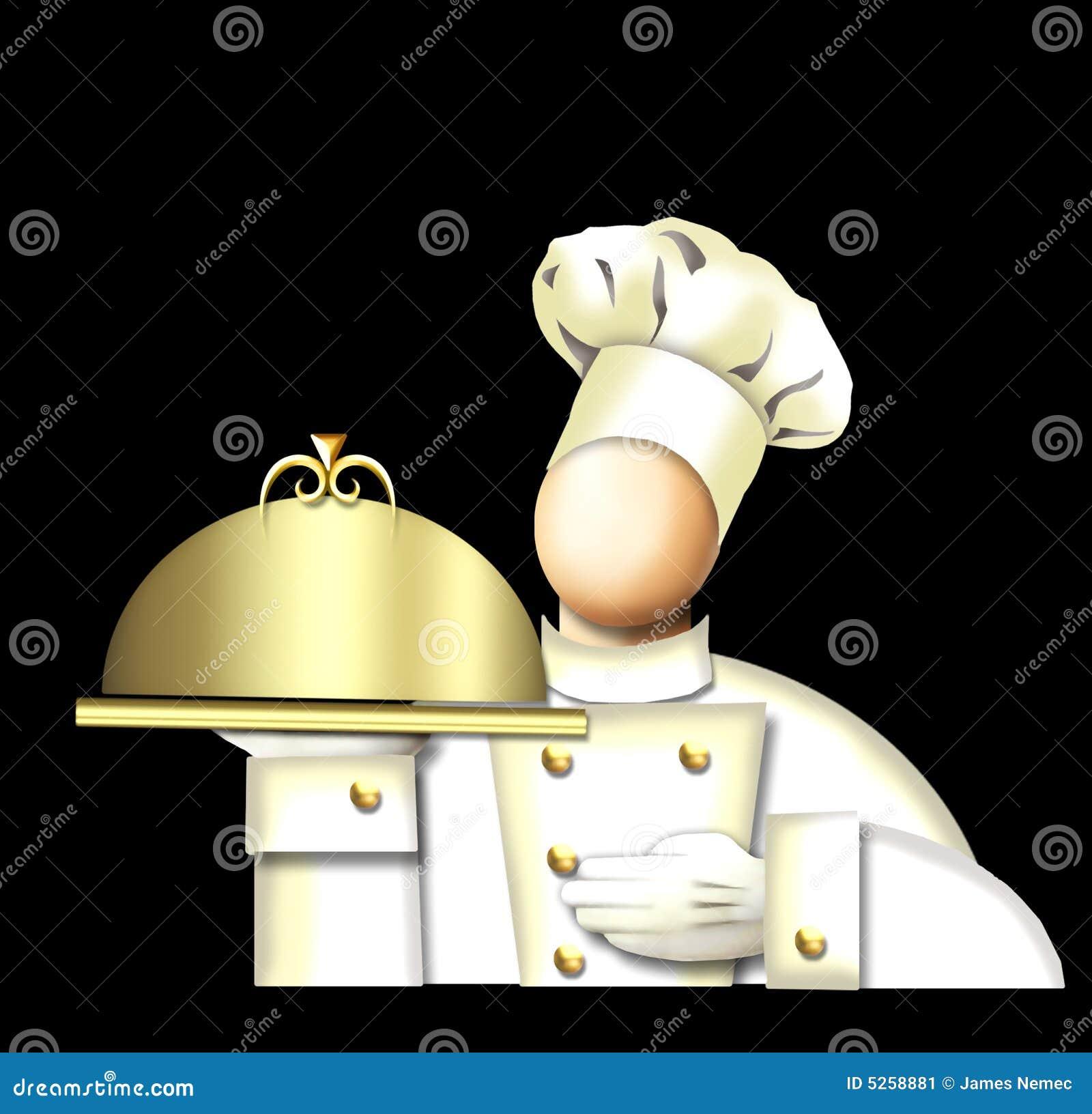 Sztuka szefa kuchni deco