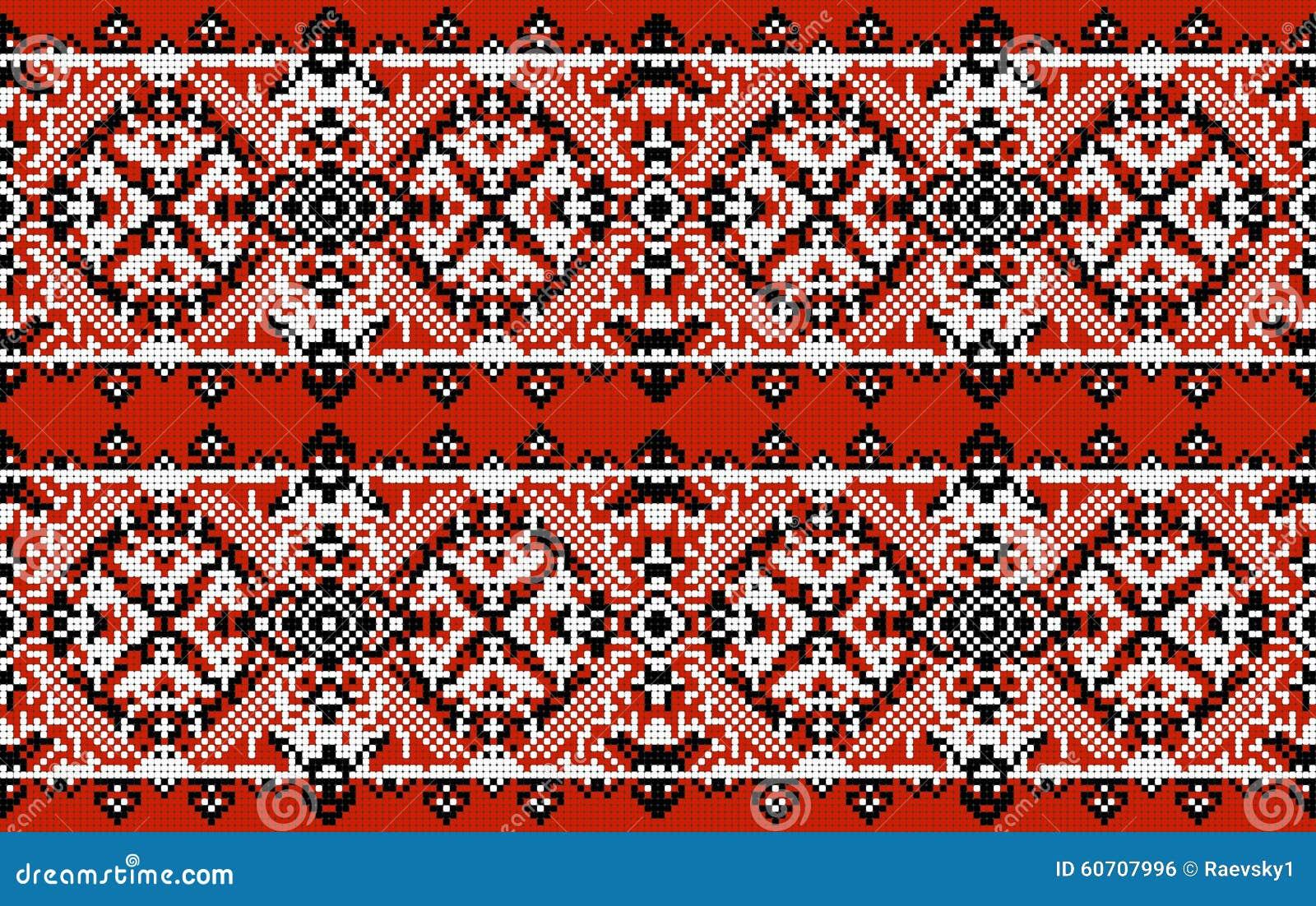 Sztuki ceramiczny ludowy ornamentu garncarstwa ukrainian Tradycyjnego obywatela upiększony bezszwowy wzór struktura abstrakcyjna
