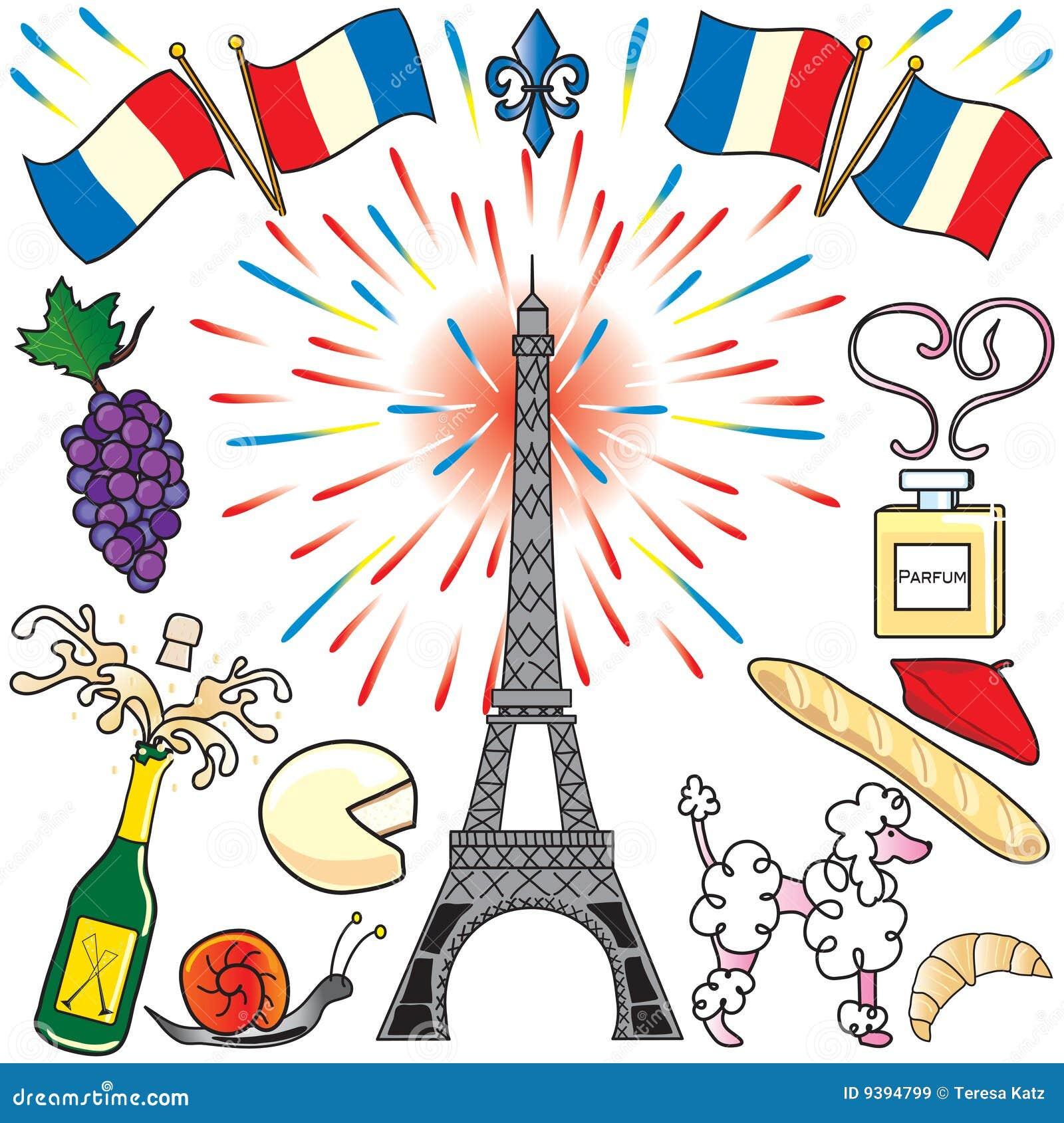 Sztuki klamerki France Paris przyjęcie
