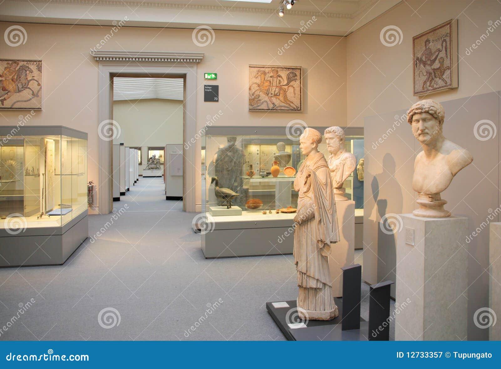 Sztuki rzymski brytyjski muzealny