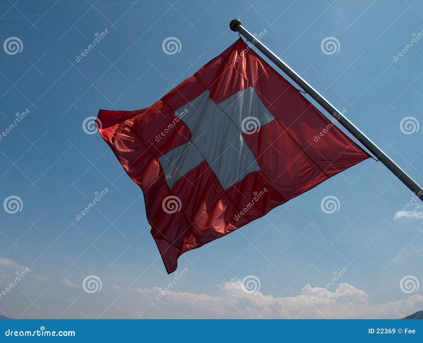 Szwajcarzy bandery
