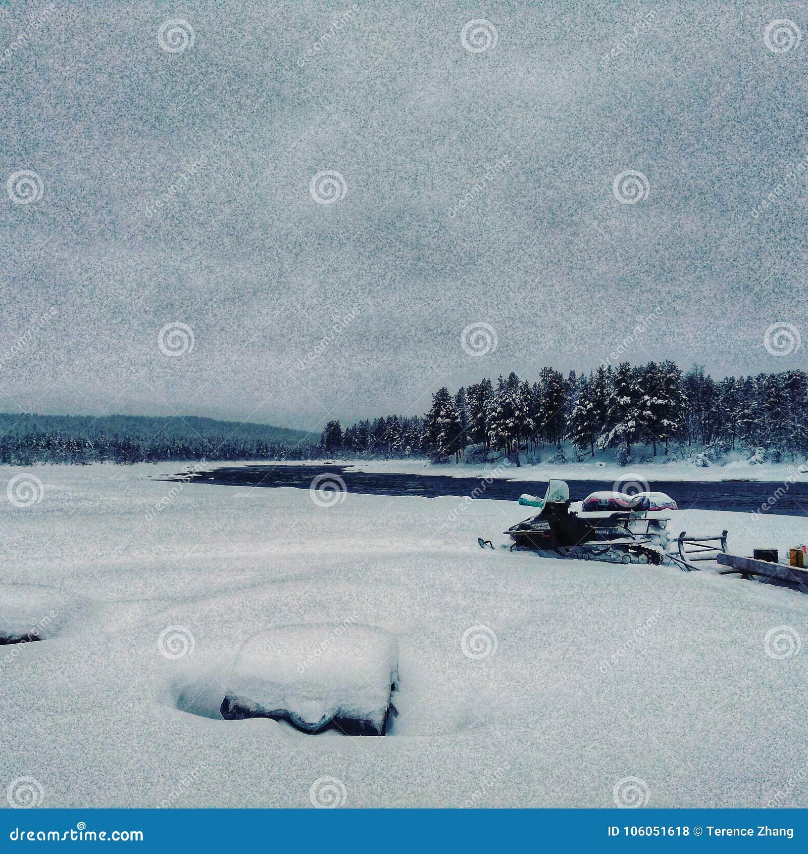 Szwecja zima
