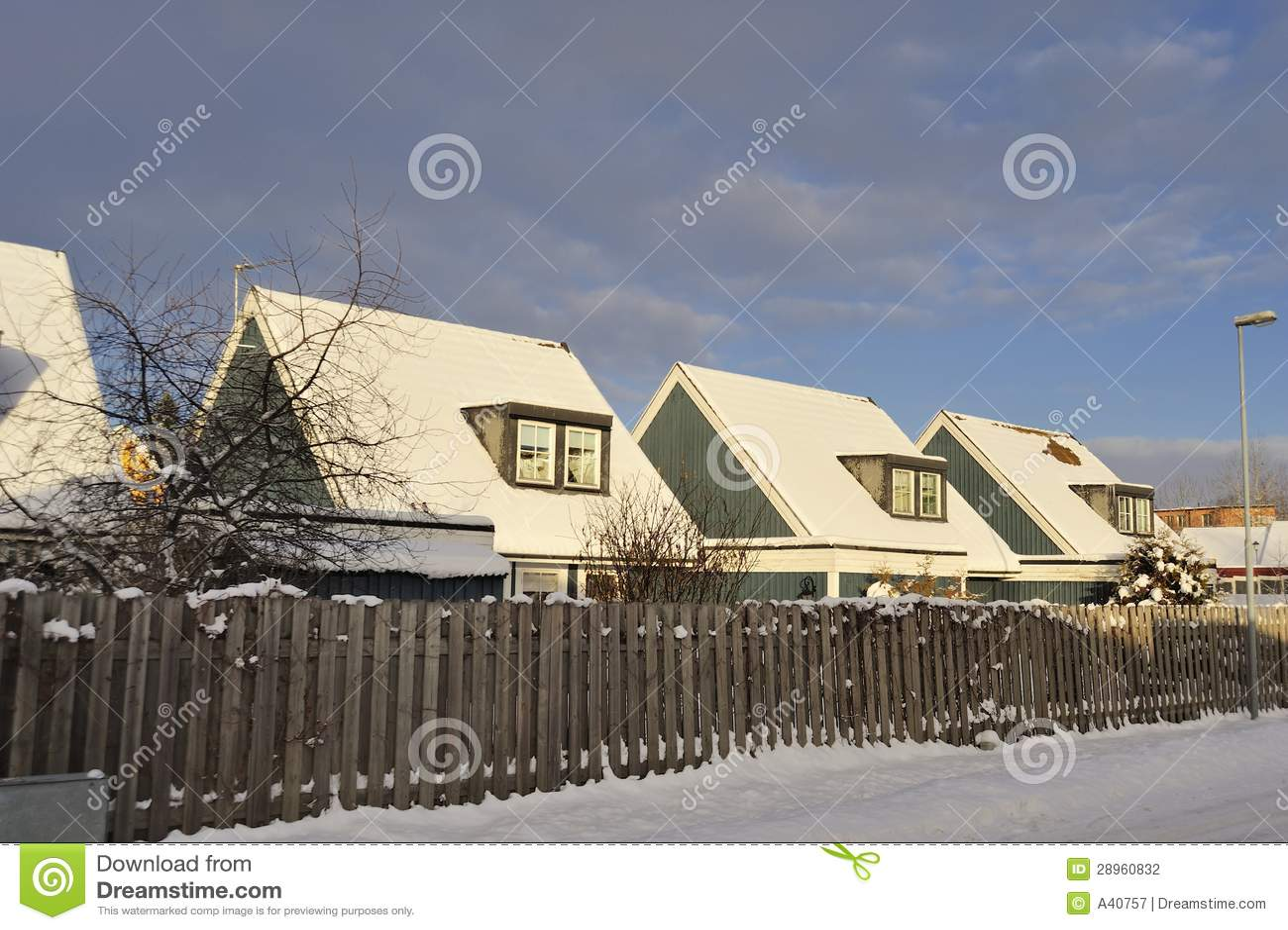 Szwedzki budynki mieszkalne
