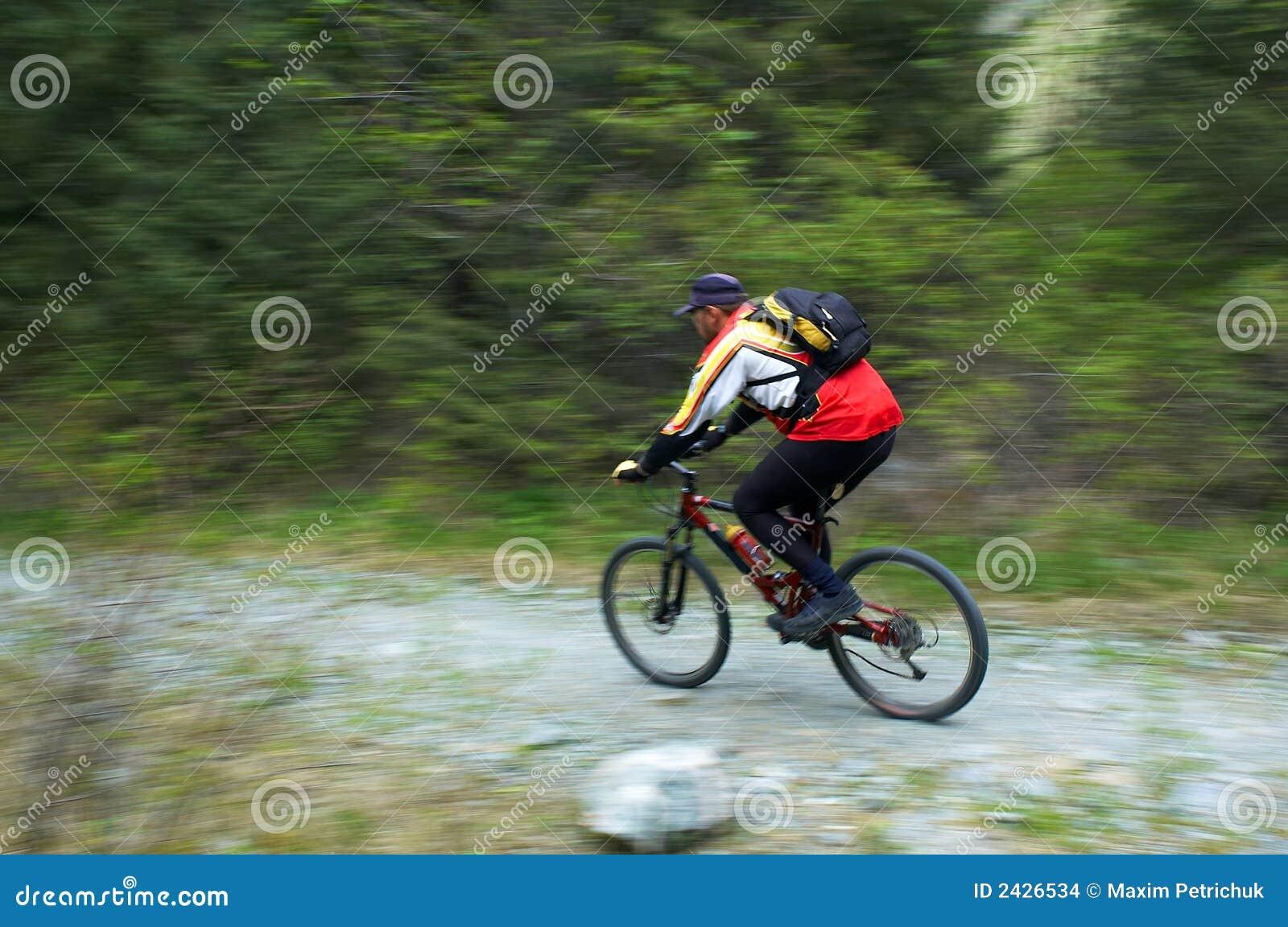 Szybkość przepływu motocyklistów