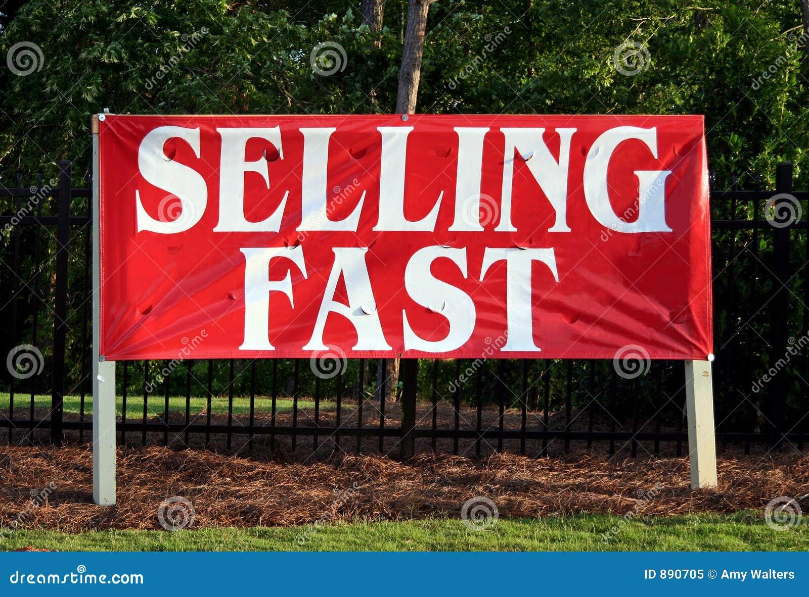 Szybko sprzedaż znak