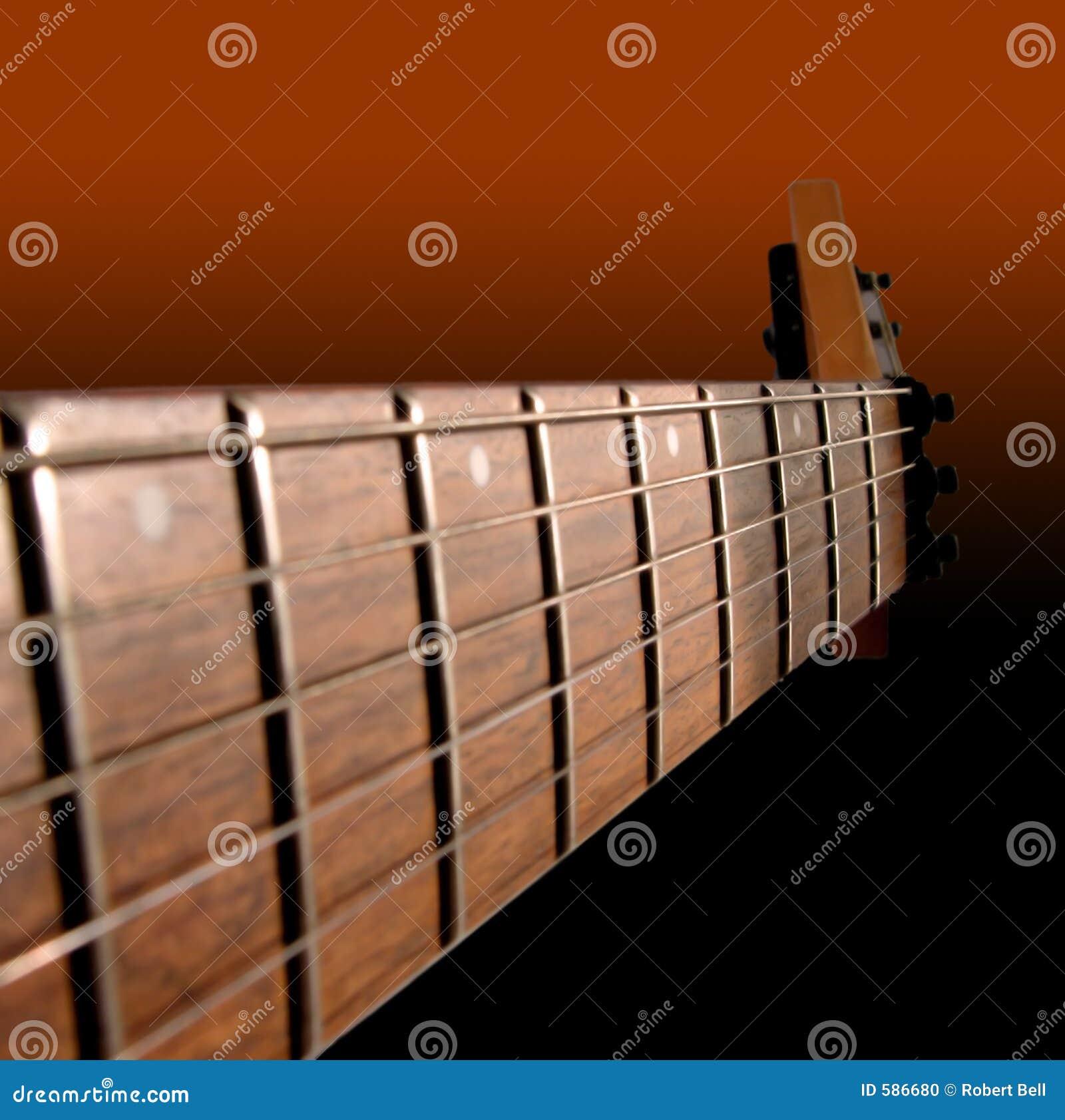 Szyja gitary elektrycznej