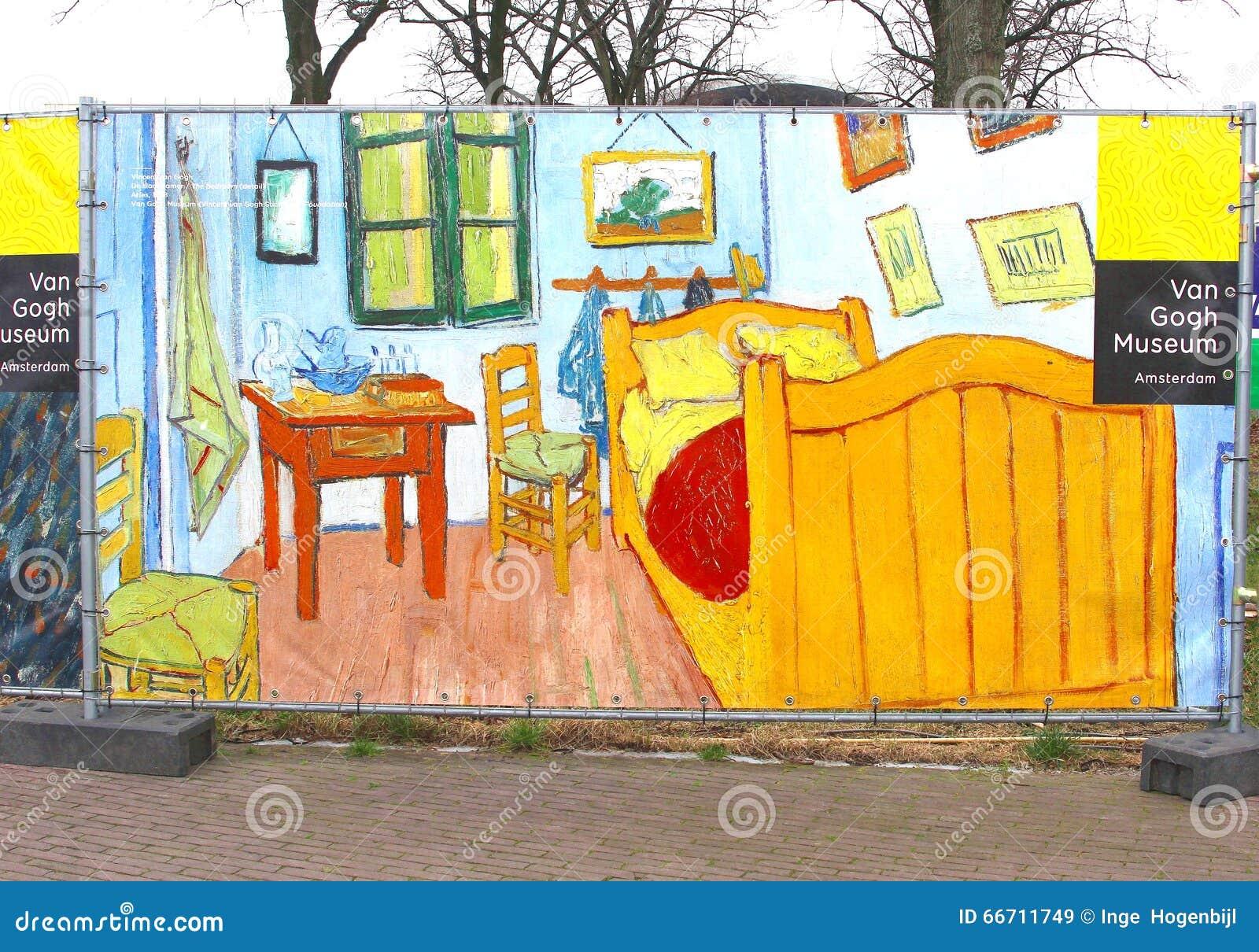 Szyldowa Poczta Vincent Van Gogh Muzeum Amsterdam Obraz