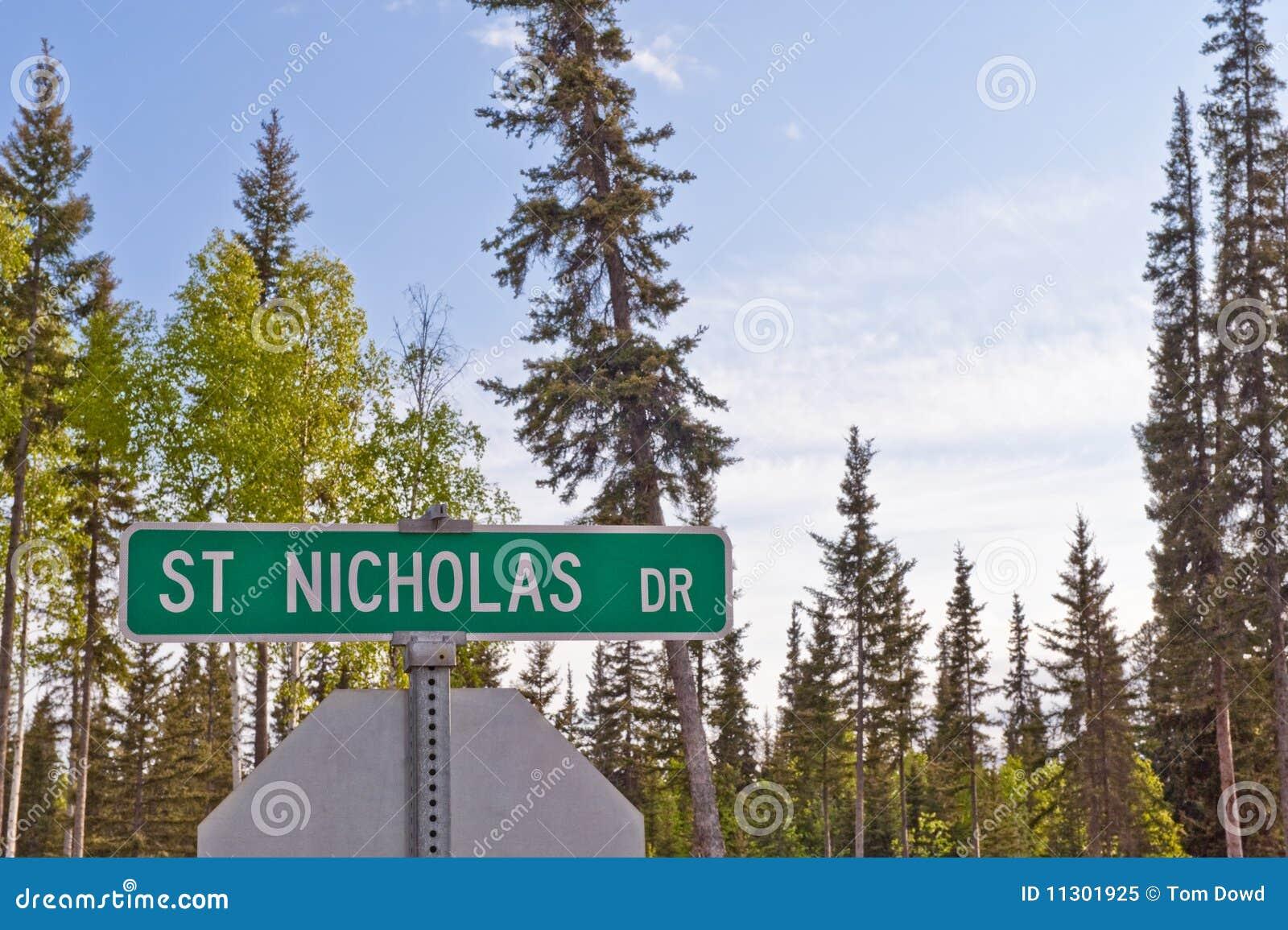 Szyldowy Nicholas prowadnikowy st