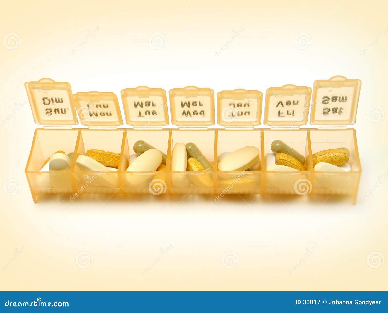 Tägliche Pillen 5