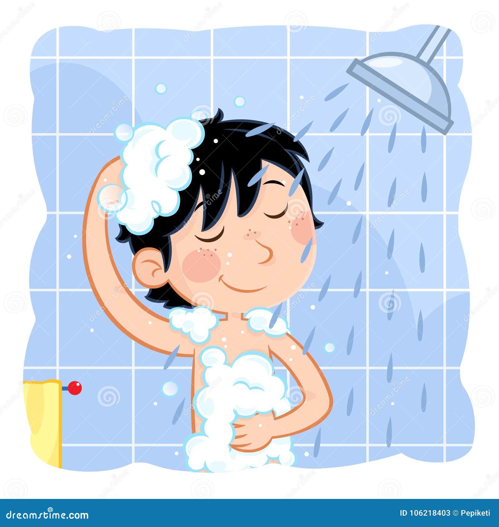 duschen lustig