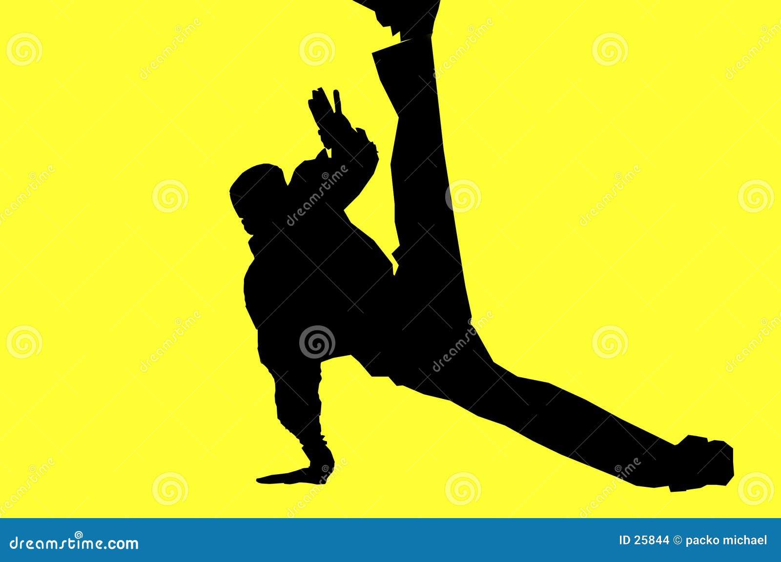 Tänzer: Hüftehopfen