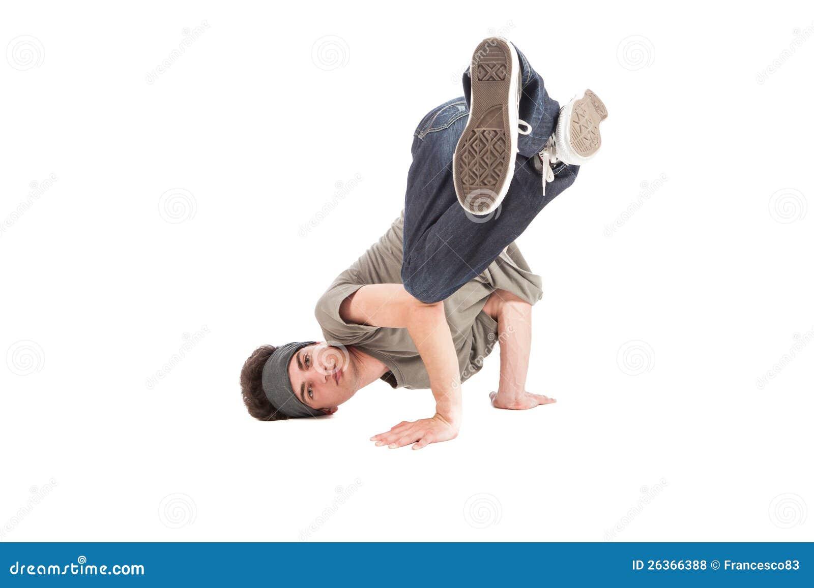 Tänzer - verschieben auf dem Fußboden