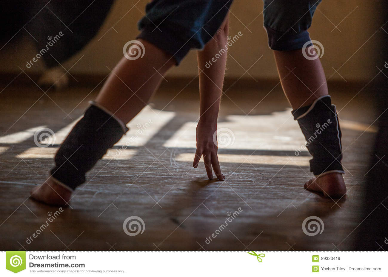 Tänzerbein