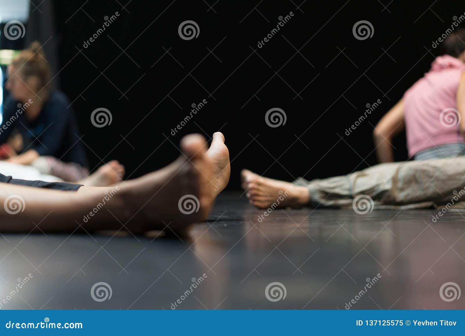 Tänzerbein, Fuß