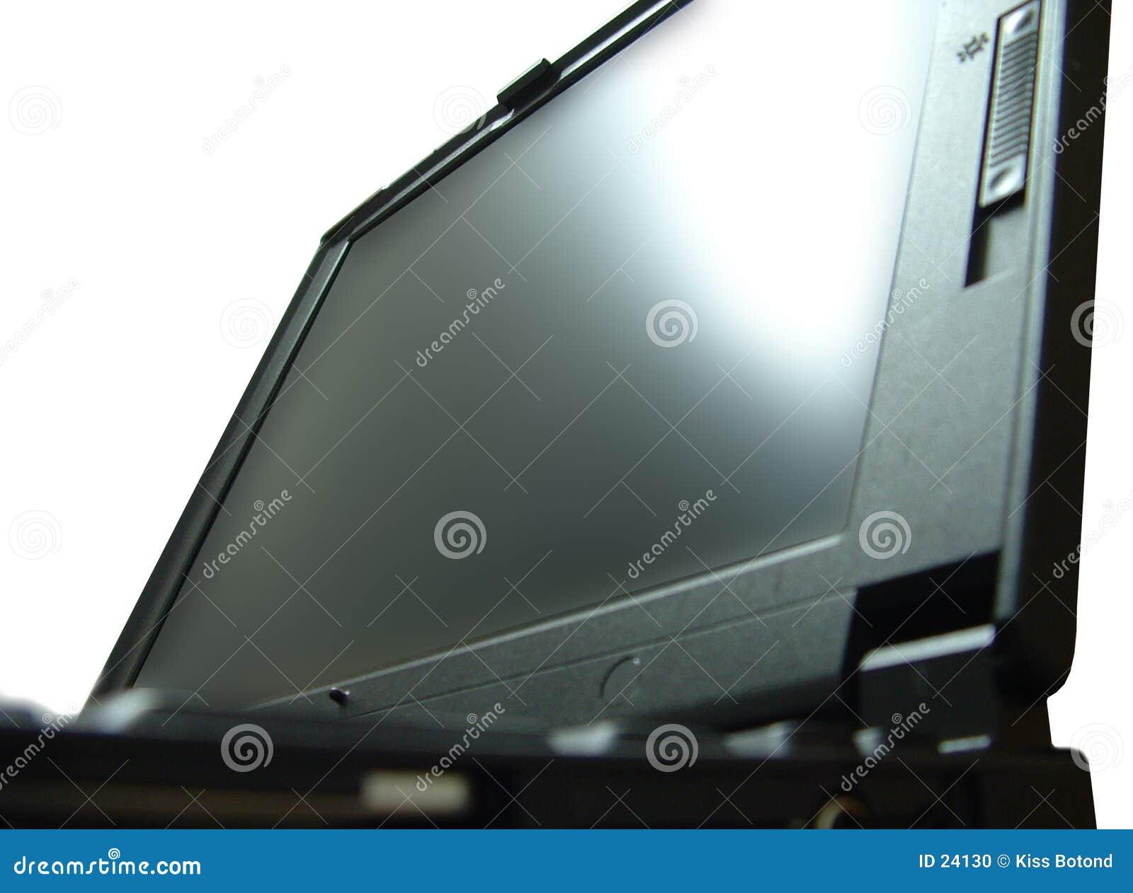 Tät bärbar dator upp