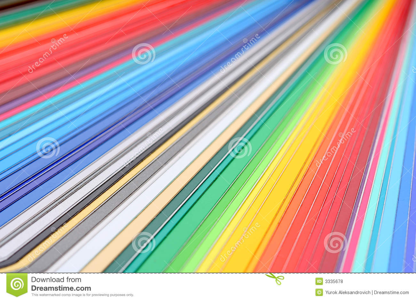Tät färghandbok upp