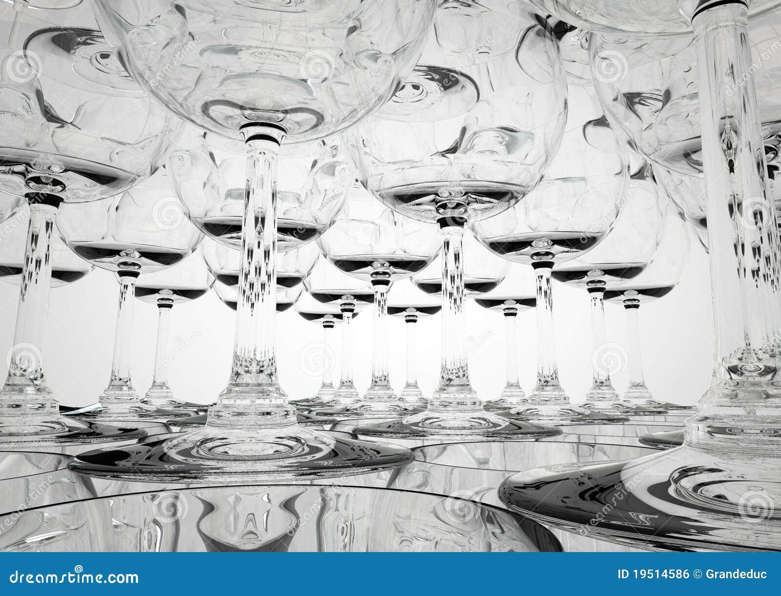 Tät glass pyramid upp