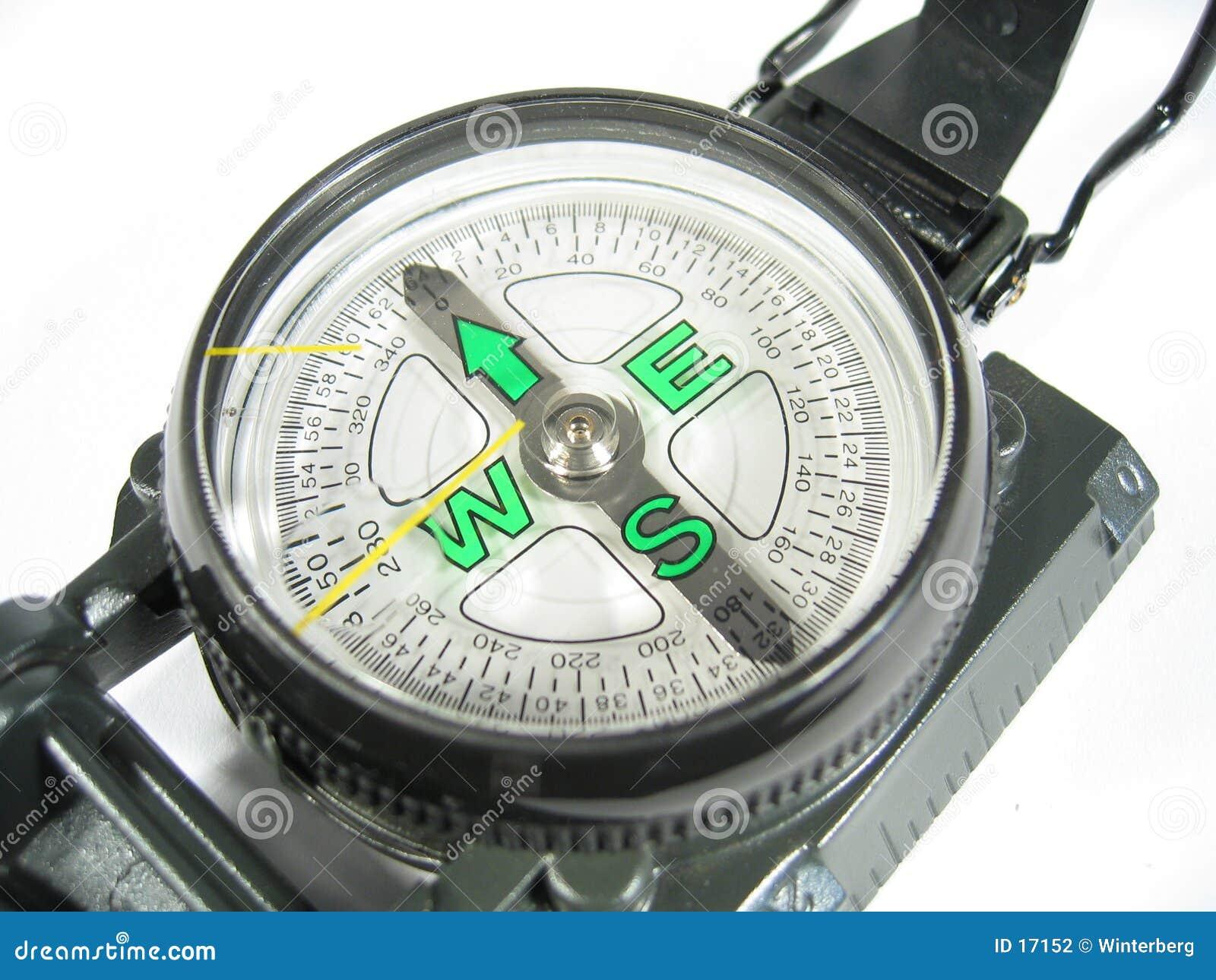Tät kompass ii upp