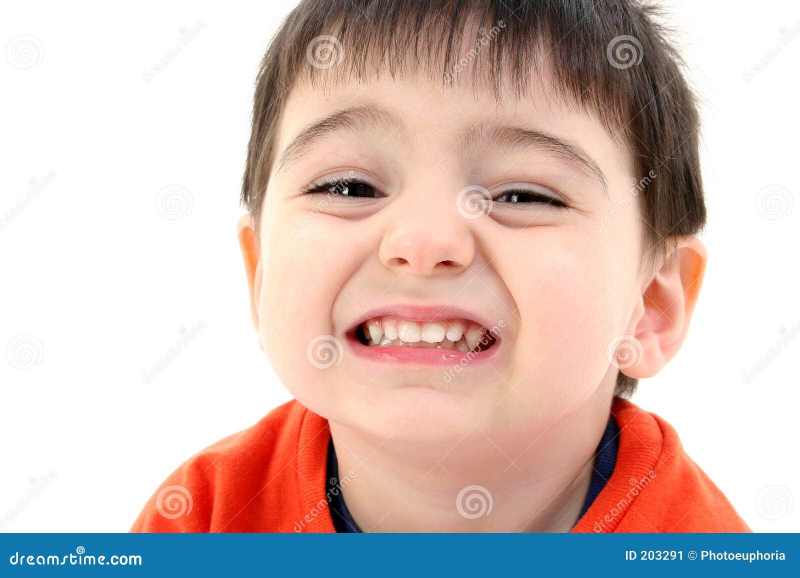 Tät le litet barn för pojke upp