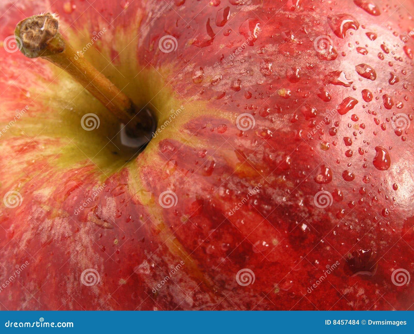 Tät red för äpple upp