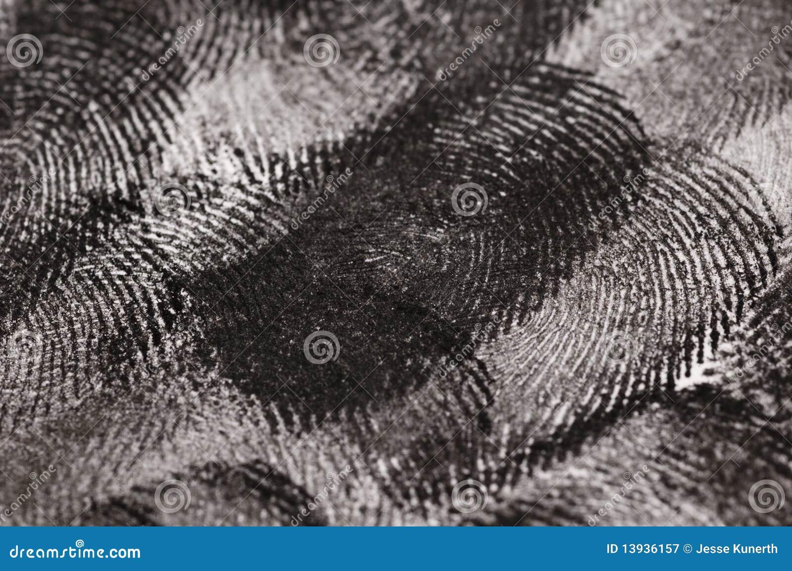 Täta fingeravtryck upp