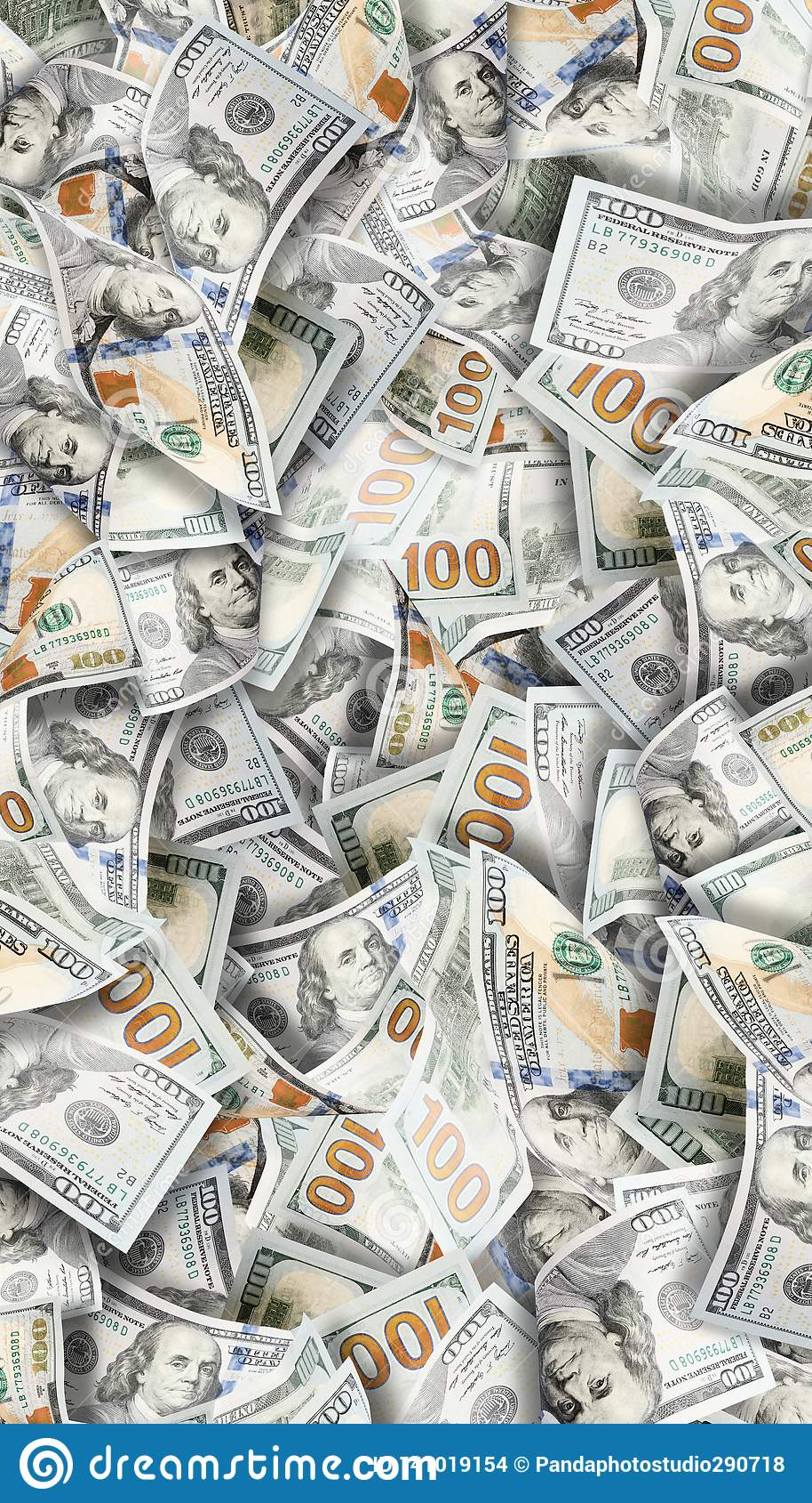 Tła dolarów udziału pieniądze Wysoce szczegółowy obrazek Amerykański pieniądze
