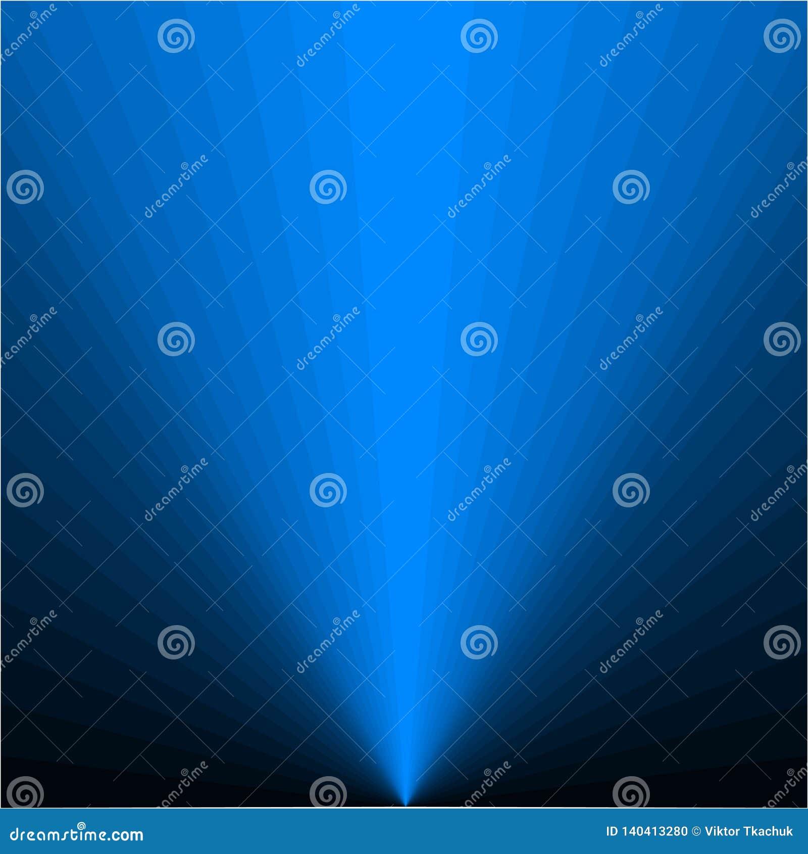Tło błękitni promienie