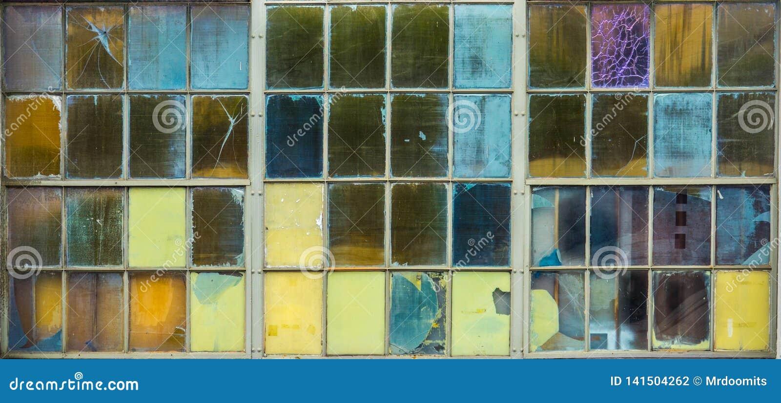 Tło Stubarwne Szklane tafle