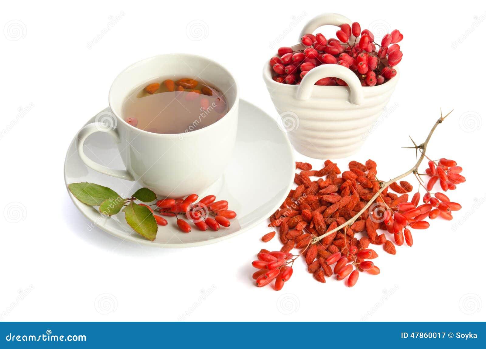 Tè antiossidante fresco di Goji