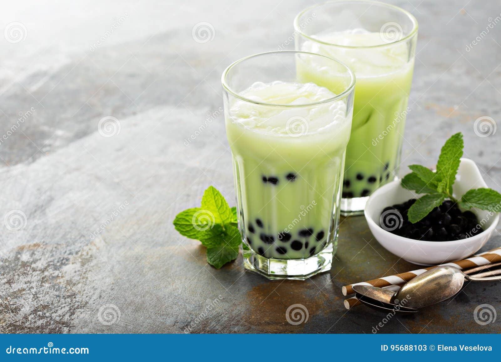 Tè della bolla di Matcha