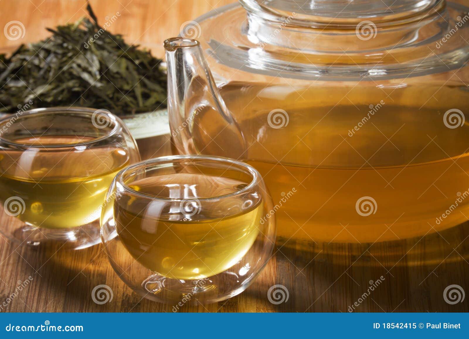 Tè verde sano