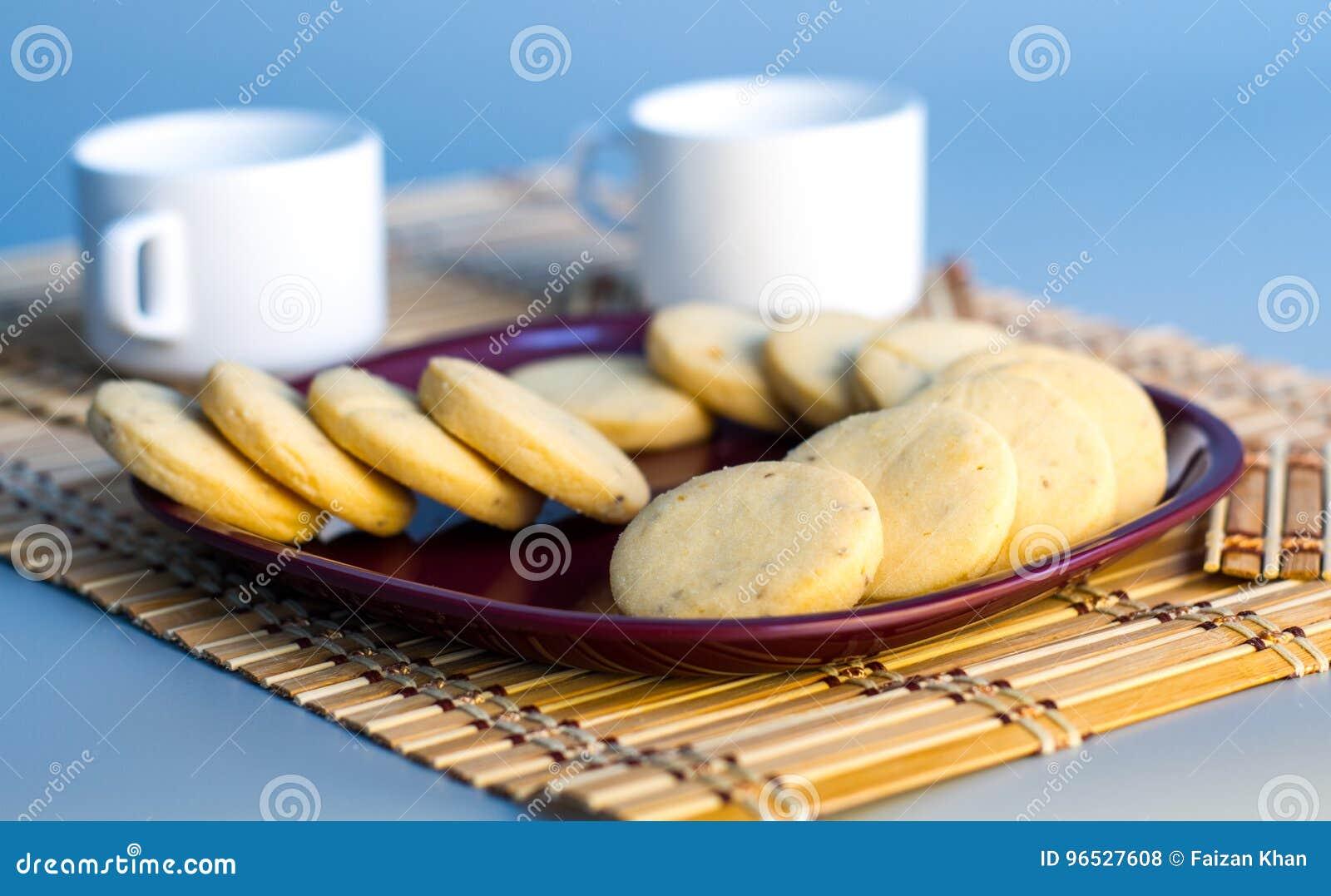 Té con las galletas