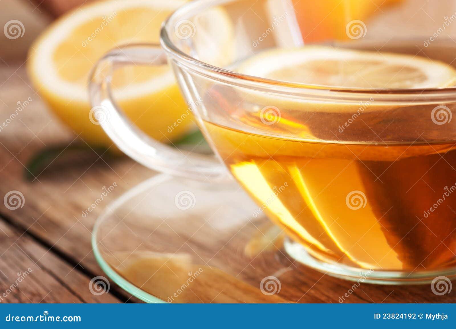 Té de la fruta del limón