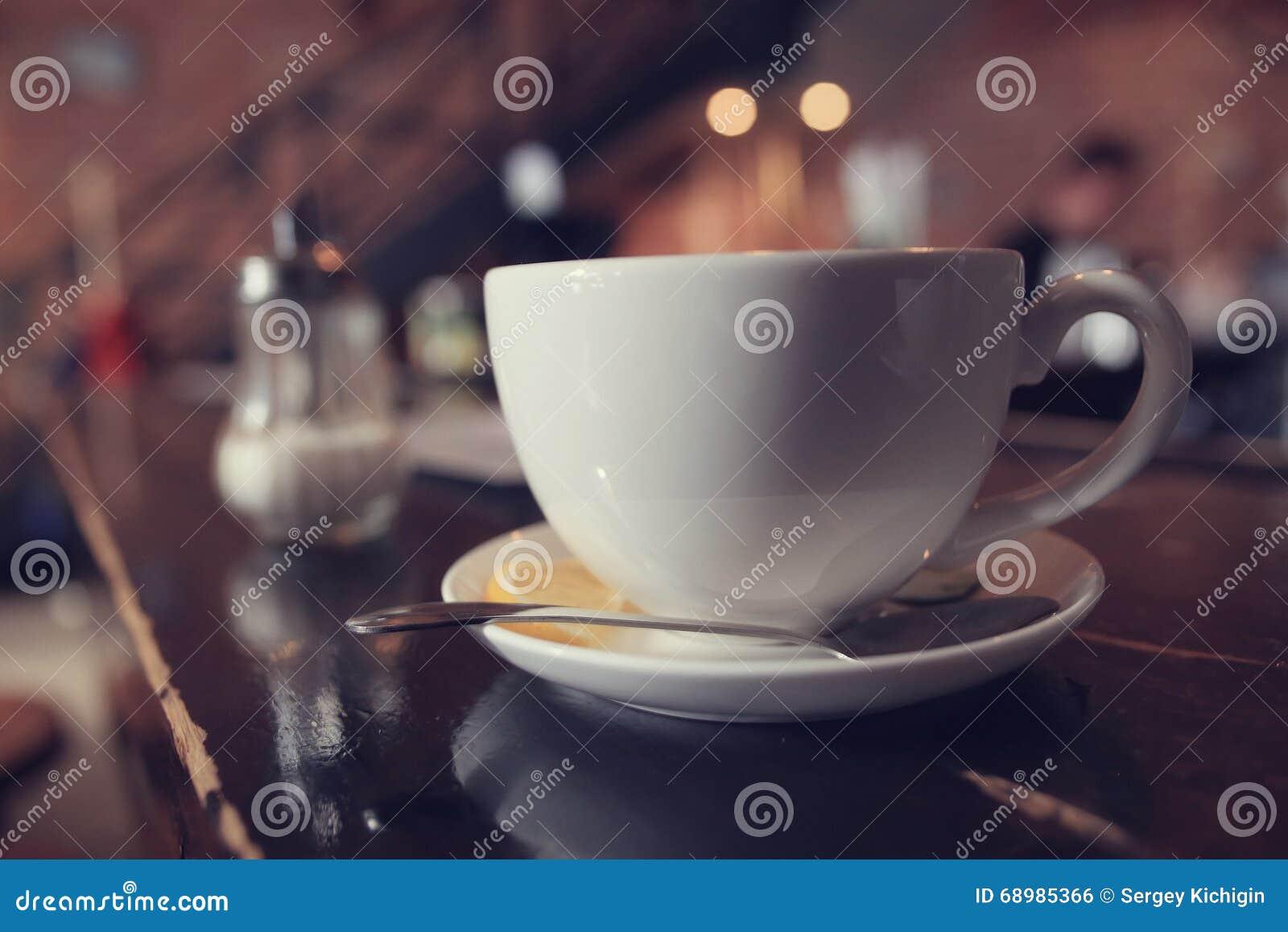 Té en un café