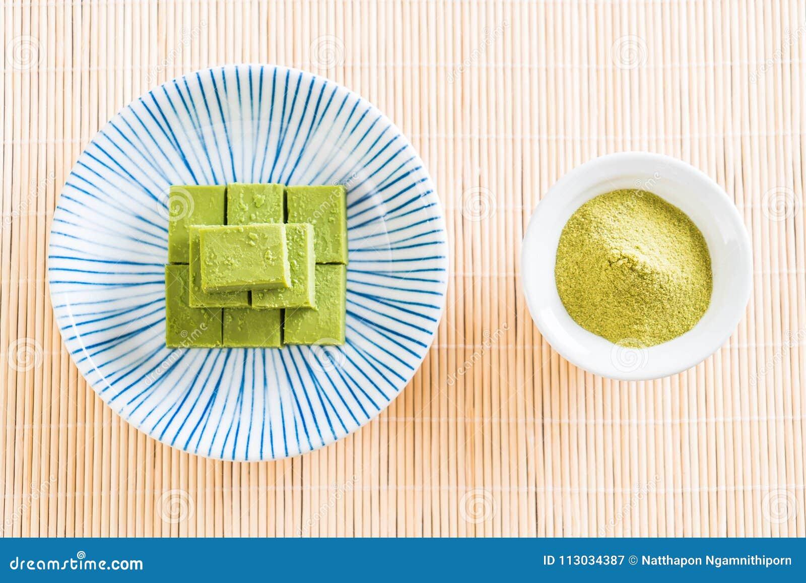 Té verde del chocolate suave