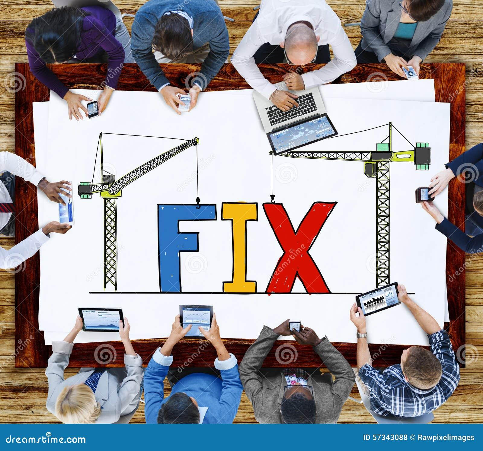 Técnico mecânico Maintenance Concept da solução do reparo do reparo