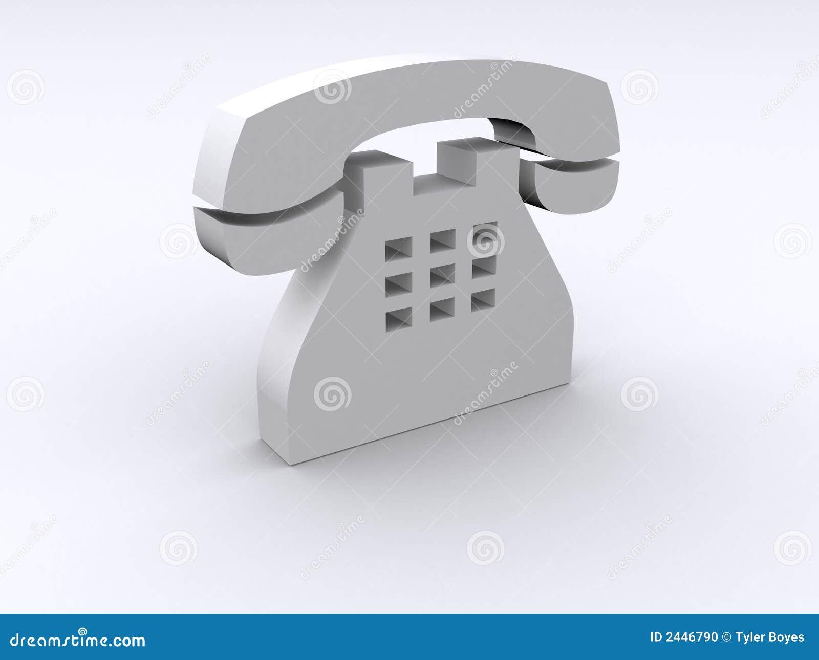 Téléphone 3d