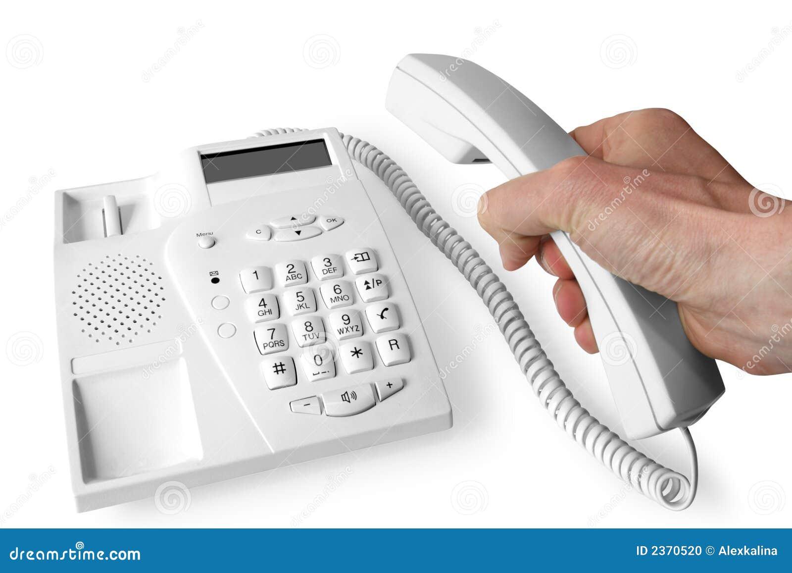 Téléphone de main