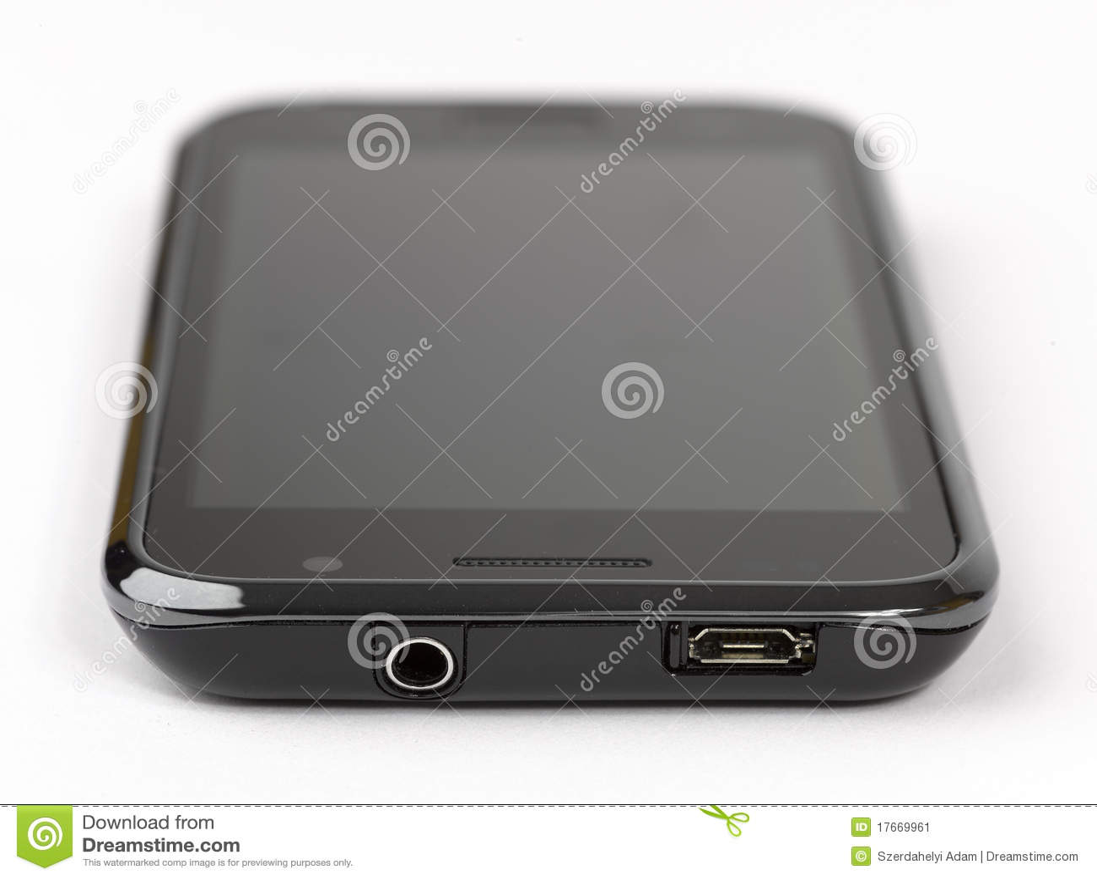 T l phone portable d 39 cran tactile image stock image for Image ecran portable