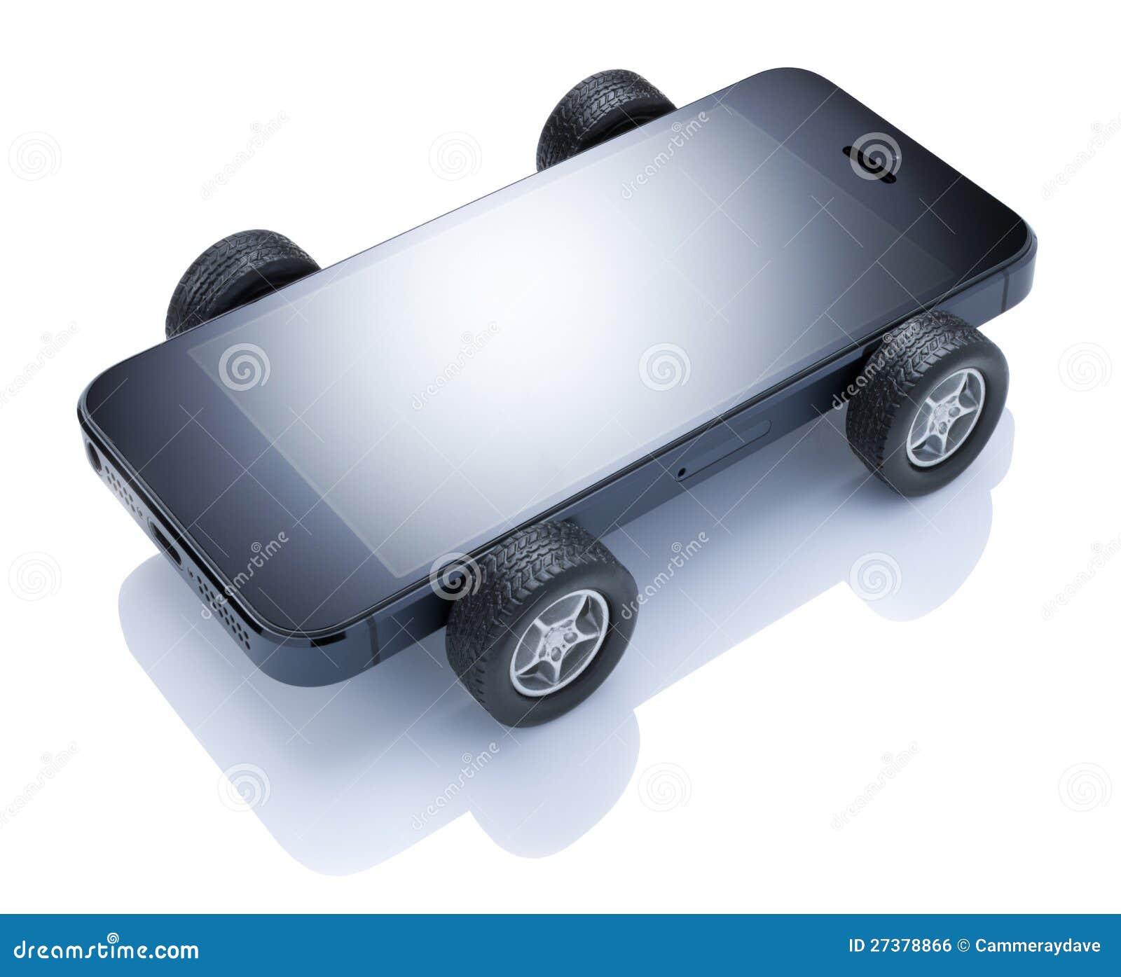 Téléphone portable mobile de véhicule
