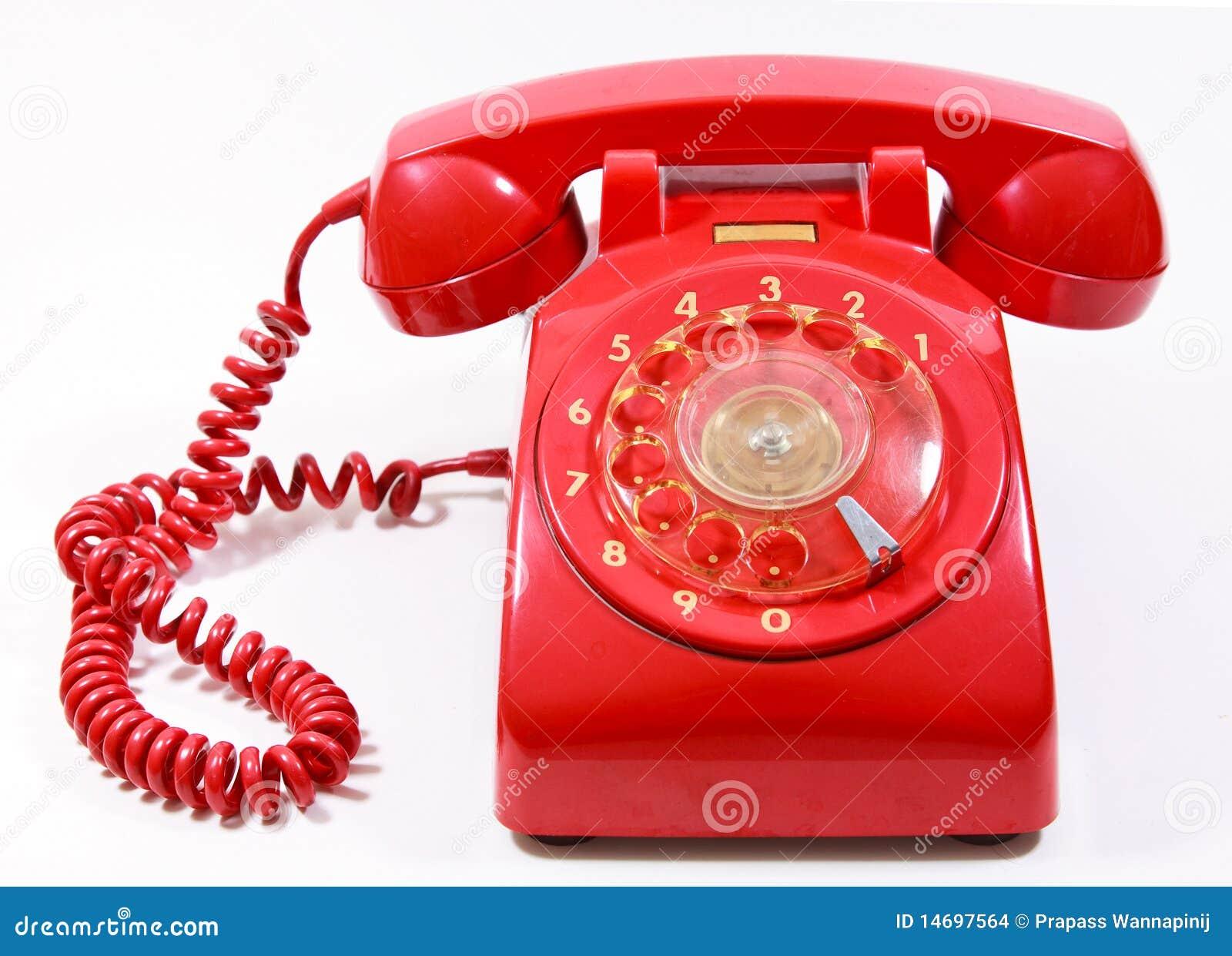 t l phone rouge de maison de r tro type de cadran du classique 1970 1980 images stock image. Black Bedroom Furniture Sets. Home Design Ideas