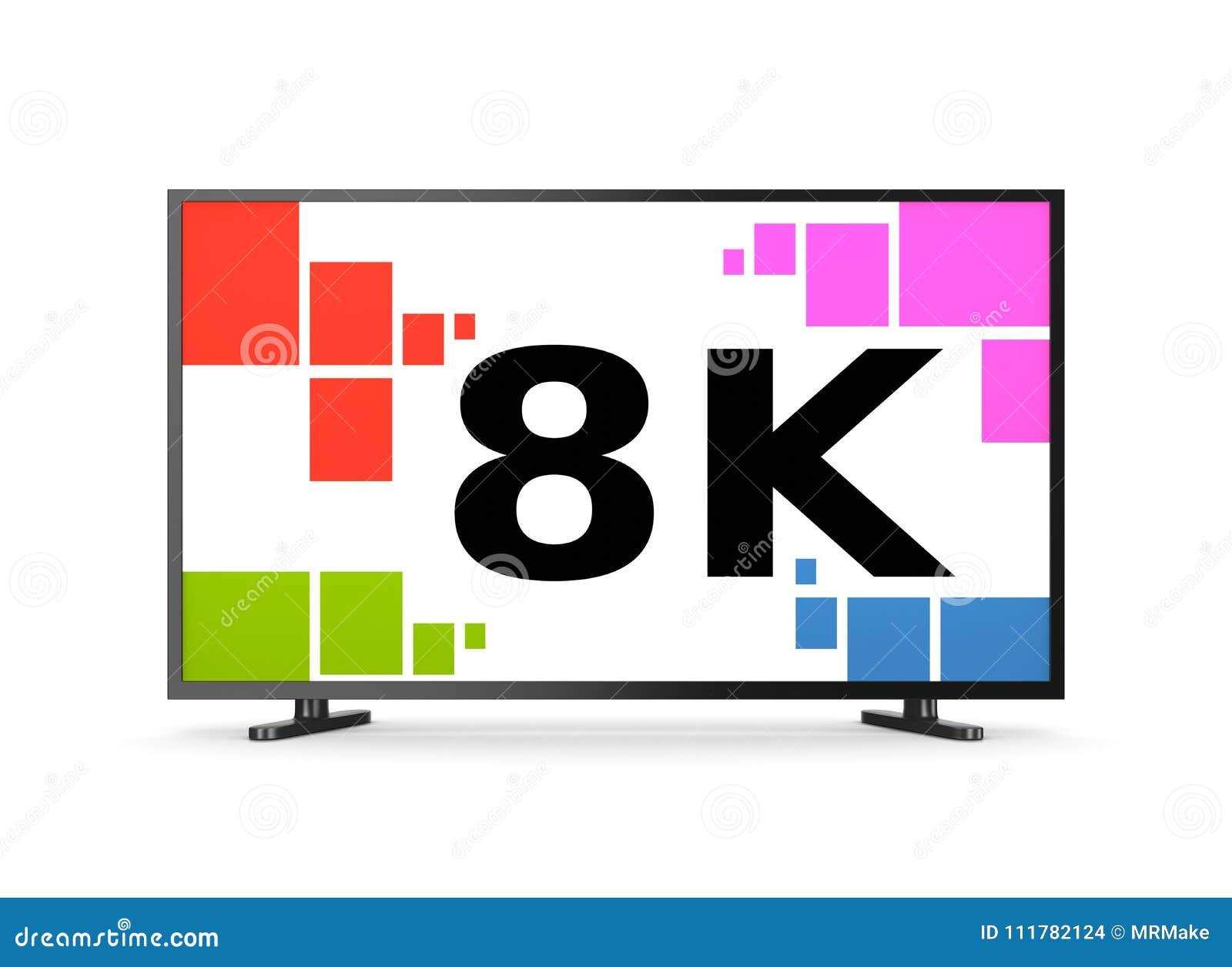 Téléviseur 8K