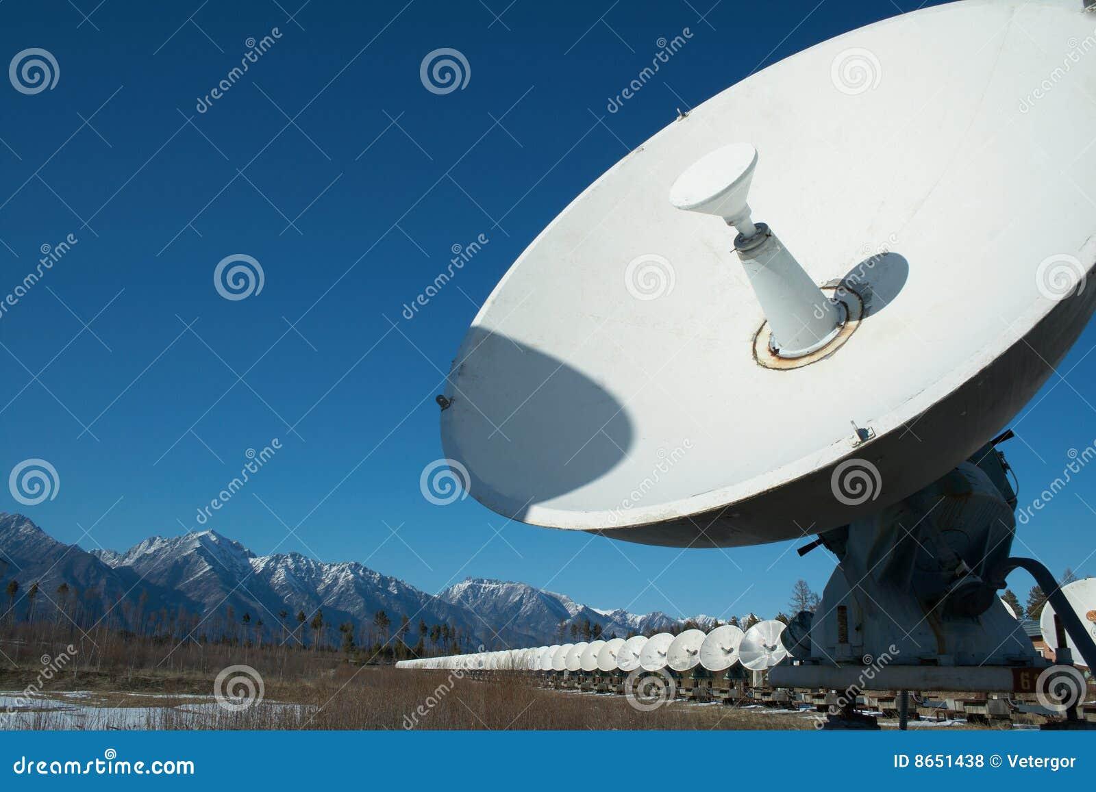 Télescope solaire par radio