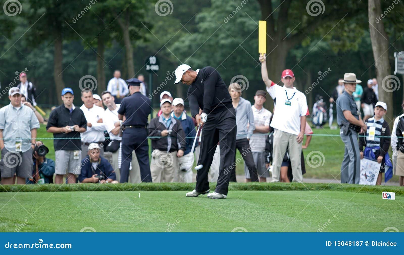 Tés de Tiger Woods hors fonction