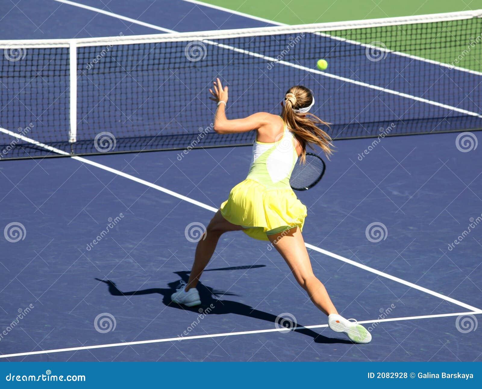 Tênis da mulher
