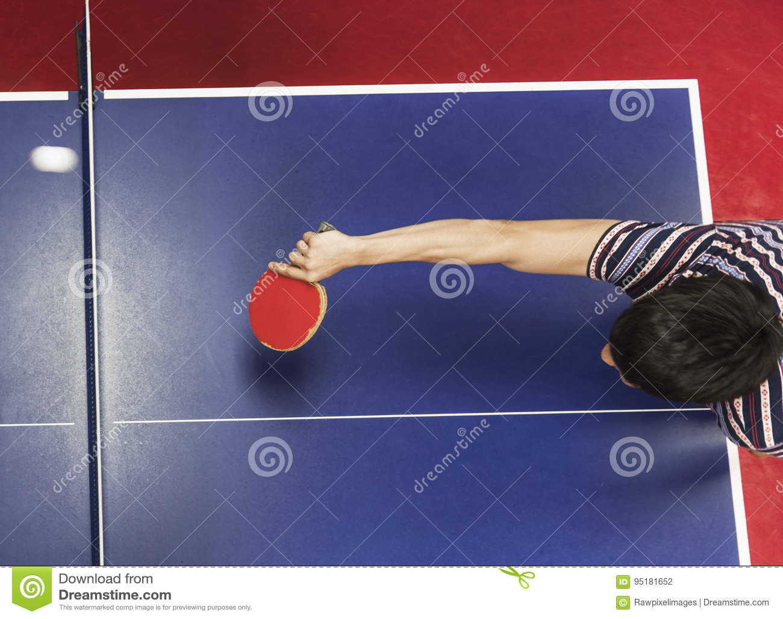 Tênis de mesa Ping-Pong Sport Activity Concept