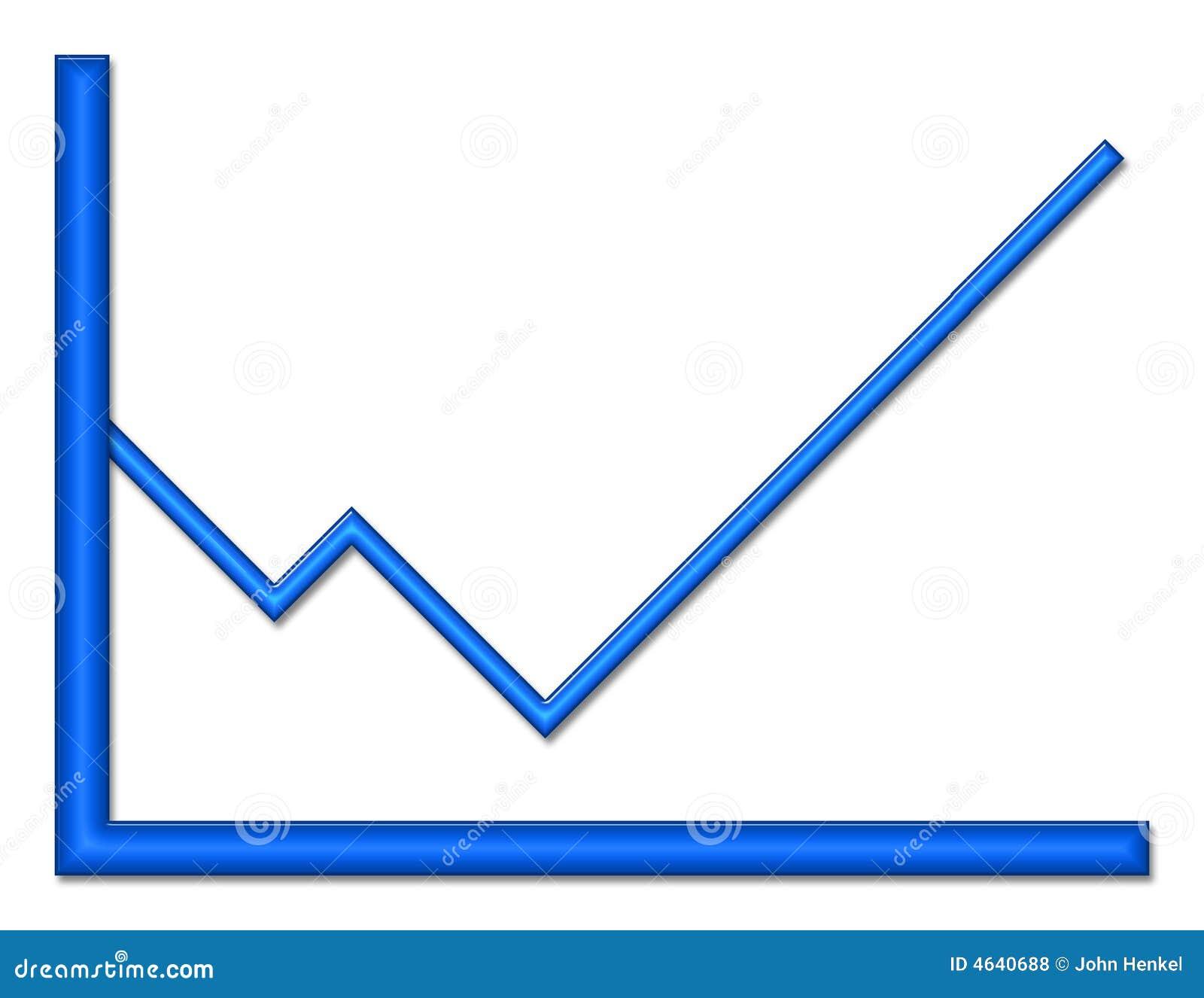 Título brilhante azul do gráfico acima