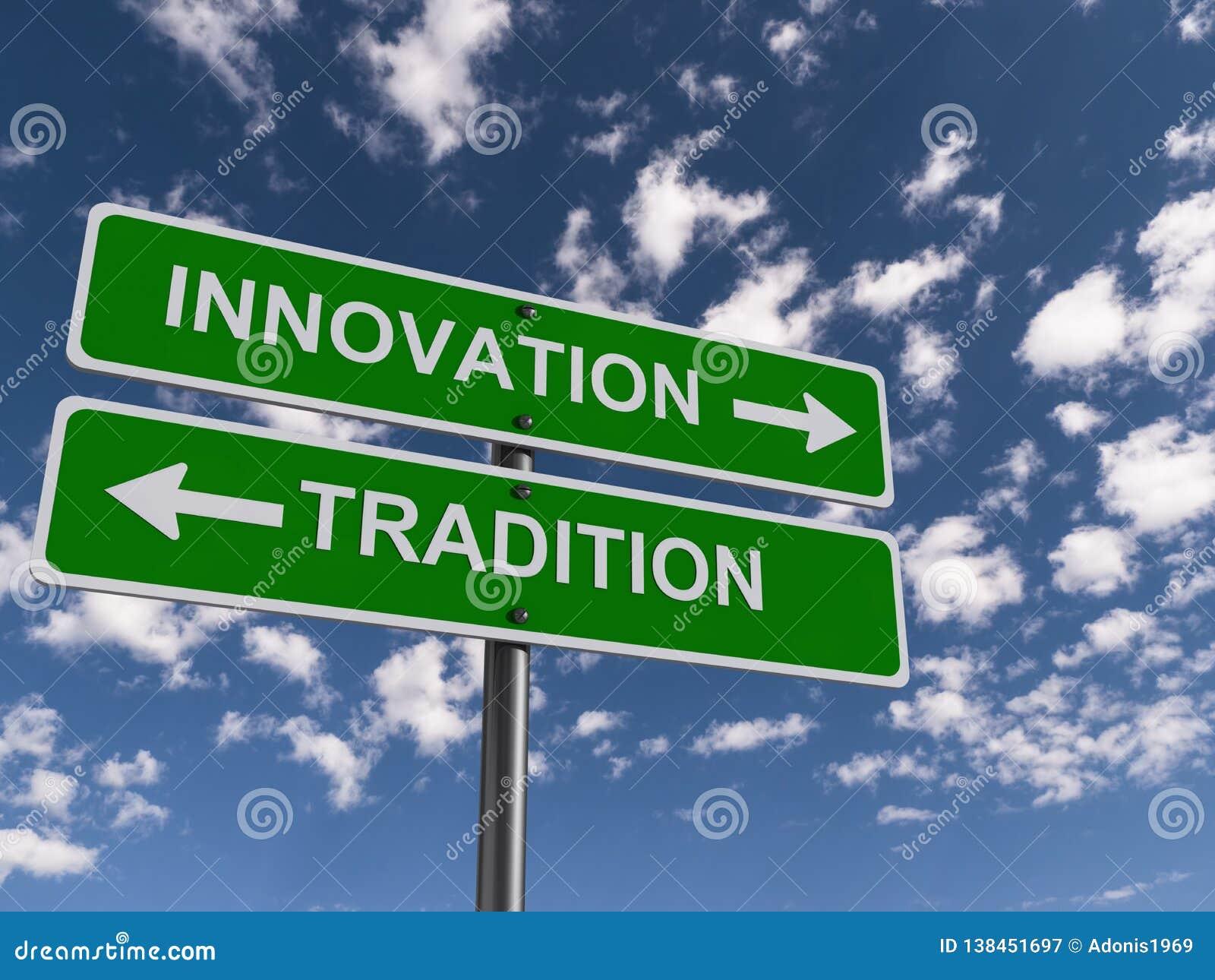 Título da inovação e da tradição
