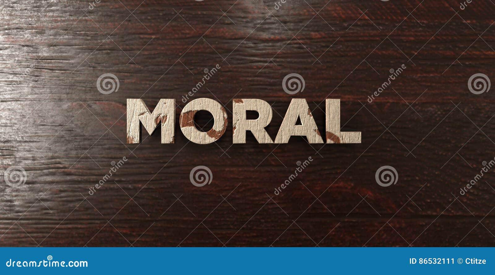 T tulo de madera sucio en arce 3d moral rindi imagen - Maderas moral ...